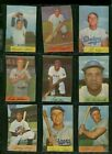 1954 BOWMAN BASEBALL LOT OF 140 DIFFERENT MINI CARDS STARTER SET WILLIE MAYS