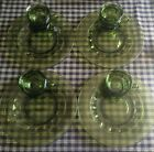 Colony Color Crown Green Set Of 4 Snack Sets. Excellent Condition.