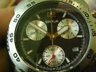 VINTAGE 40MM SWISS SECTOR 300 SPORTS 100M CHRONOGRAPHIC QUARTZ MENS WATCH