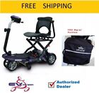 EV Rider Transport PLUS Folding Power Mobility Electric Scooter w Free Bag