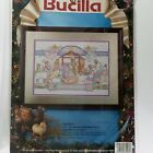 Bucilla Nativity Counted Cross Stitch Kit Manger 83043 Linda Gillum 1993 NEW