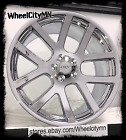 20 inch chrome Dodge Charger Viper SRT OE replica rims Challenger Magnum 5x115