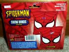NEW Marvel SPIDERMAN FACE Inflatable ARM SWIM BANDS Floaties TRAINERS Beach Pool