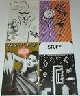 STUFF 4 MAGAZINE LOT ART CULTURE DESIGN PHOTO PEE WEE HERMAN Paper The Face Book