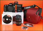 Canon EOS 70D DSLR Camera +18-55mm Zoom Lens kit with Battery, Charger