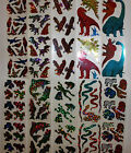 Hambly stickers 1 sheet Animals Dinosaurs You Choose