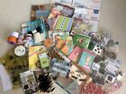HUGE Lot Stamp  Papercraft items Wide Variety For Card Making And Scrapbooking