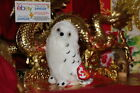 TY BEANIE BABY KNOWLEDGE THE BORDERS EXCLUSIVE OWL-6