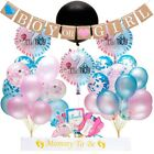 Gender Reveal Party Supplies Baby Shower Boy or Girl Reveal Kit 94 Pieces US