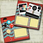Say Cheese Disney 2 Premade Scrapbook Pages EZ Layout 4058