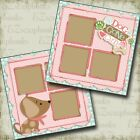 Dog Gone Cute Girl 2 Premade Scrapbook Pages EZ Layout 4016