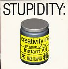 Animal Bag - Stupidity: For Art's Sake - CD (1 x Track Promo Card Sleeve U.S.A.)