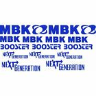 Set Stickers for Plastics Fairing Blue MBK Booster next NG Stickers Logo