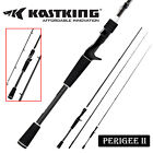 KastKing Perigee II Spinning  Casting Fishing Rod Fuji Guide Ring 24 Ton Carbon