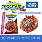 GENUINE TAKATRA TOMY BEYBLADE BURST BOOSTER B-159 SUPER HYPERION.Xc.1A -USA SELL