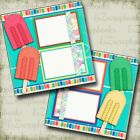 CHILL OUT 2 Premade Scrapbook Pages EZ Layout 4060