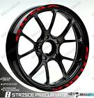 Trims Rim Stickers Wheel Wheels Wheel Red Gilera Nexus 500