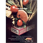 1983 Weight Watchers Why Diet Food Vintage Print Ad