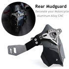 CNC Aluminum Alloy Motorcycle ATV Rear Wheel Fender Cover Mud Dust Wheel Splash