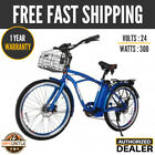 X treme SCOOTERS Newport Electric Beach Cruiser ELITE Bicycle
