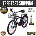New 2019 X treme SCOOTERS Newport Electric Beach Cruiser ELITE Bicycle