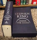 Stephen King Under The Dome Signed Limited Edition  Cards UK LIKE NEW VERY RARE