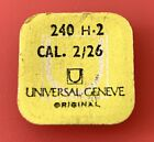 Universal Geneve Cal. 2/26 240 H2 Vintage Watch Parts Replacement Watch