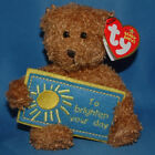 Ty Beanie Baby To brighten Your Day - MWMT (Bear Greetings Collection)