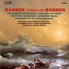 Hanson Conducts Hanson - Lament for Beowulf, Sym #7 (CD, 1996, Citadel Records)