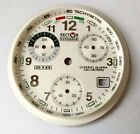 NOS Sector Exp 210 100 Meters Chronograph Ziffernblatt Parts Quadrante New V