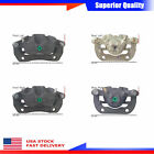 4PCs Brake Caliper Front Rear For 2005-2010 Honda Odyssey LX