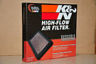 K&N 33-2119 Replacement Panel Air Filter for Land Rover Ranger Rover/Discovery