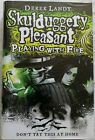 Skulduggery Pleasant PLAYING WITH FIRE by Derek Landy 1 1 Signed by the author