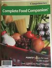 WeightWatchers Complete Food Companion Points Values for over 16500 Foods