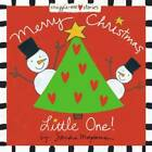 Merry Christmas Little One Padded Cloth Covers with Lift the Flaps