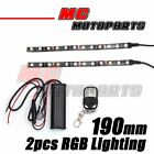 For Moto Guzzi V1000 RGB Light Strips DIY Fairing Multi-Color Design