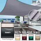 Sun Shade Sail Outdoor Patio Pool Lawn Top Canopy Patio Triangle 98 UV Block
