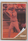 MIKE TROUT 2011 TOPPS HERITAGE MINOR LEAGUE RED TINT 620 ANGELS