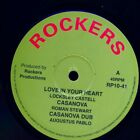 SEALED NEW 10 INCH Lacksley Castell Love In Your Heart Extended Mix Roman