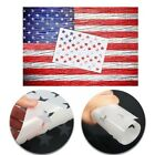 1PCS American Flag 50 Star Stencil Template Reusable for Painting on Wood USA