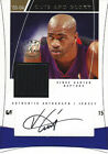 2003-04 #12 15 Vince Carter CUTS AND GLORY Game Used Autograph Jersey Raptors