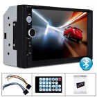 7 HD Car Stereo Receiver Radio MP5 MP3 Player Double Din Bluetooth Head Unit