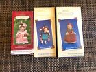 Hallmark Mistletoe Miss Ornaments - Porcelain -Set of 3 (2001, 2002, 2003)