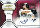2019 Topps Jeff Bagwell 1 10 (1st) Legacy of Baseball Auto RED SSP Astros #JB