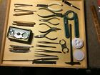 Lot of vintage Watchmaker tools