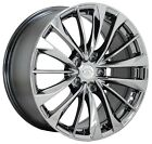 19x9 Infiniti G37 Q60 PVD Chrome wheel rim Factory OEM rear NEW 19 wheel 73756