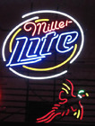 New Miller Lite Pheasant Real glass Neon Sign 32