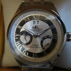 ADEE KAYE MEN'S WATCH AUTOMATIC 35 JEWELS POWER RESERVED ALL SSB ORIGINAL NEW