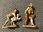 Lot of 2 Fontanini by Roman Made in Italy Figures 1983 108  129