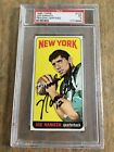 Joe Namath Cards, Rookie Cards and Autographed Memorabilia Guide 54